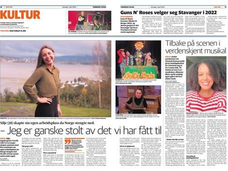 Les om Silje Tveråli i Trønder-Avisa!