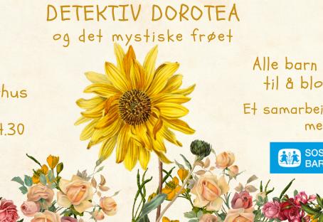 Detektiv Dorotea kommer til Hamar!