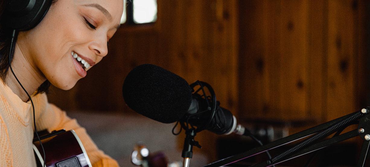 Interprete voix témoin chanteuse chante