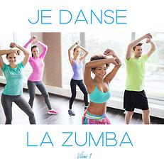 Cover JE DANSE LA ZUMBA compilation Volu