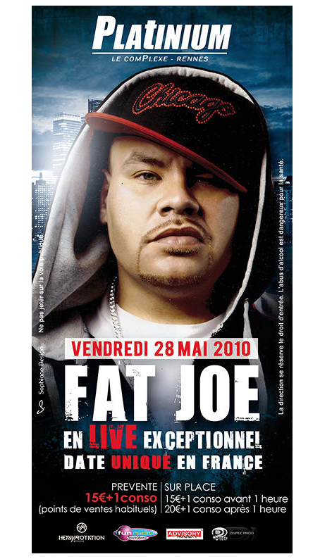 Fat joe platinium graphiste