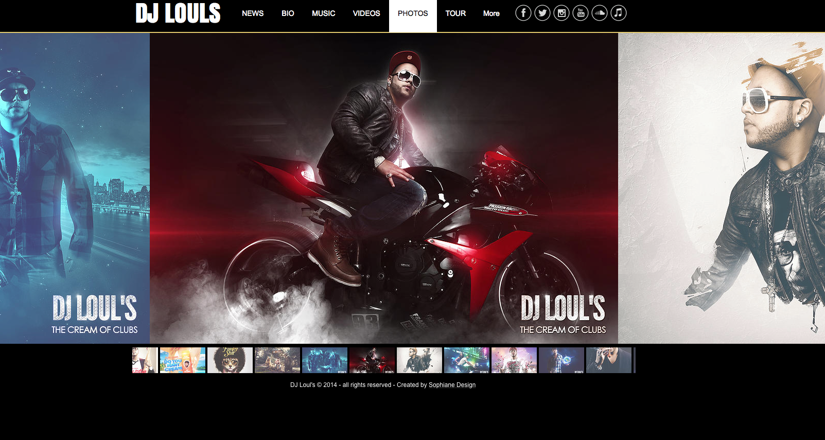 Studio graphique web DJ Louls