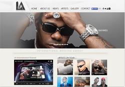 Site web Label Los angeles
