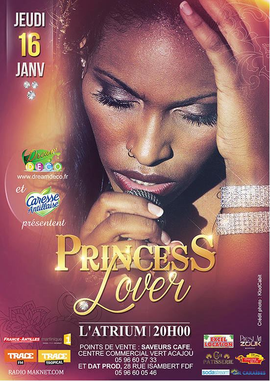flyer princess lover zouk