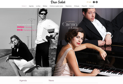 realisation site web pianistes