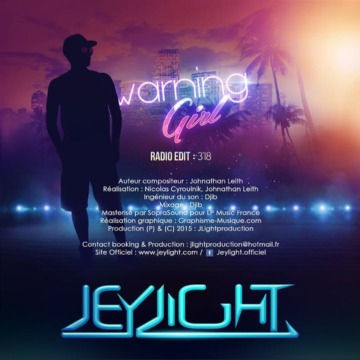 pochette verso jey light warning
