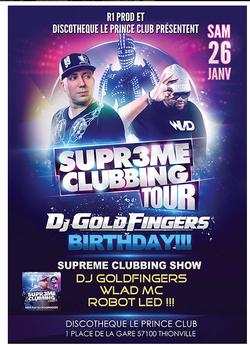 DJ Goldfinger supreme clubbing