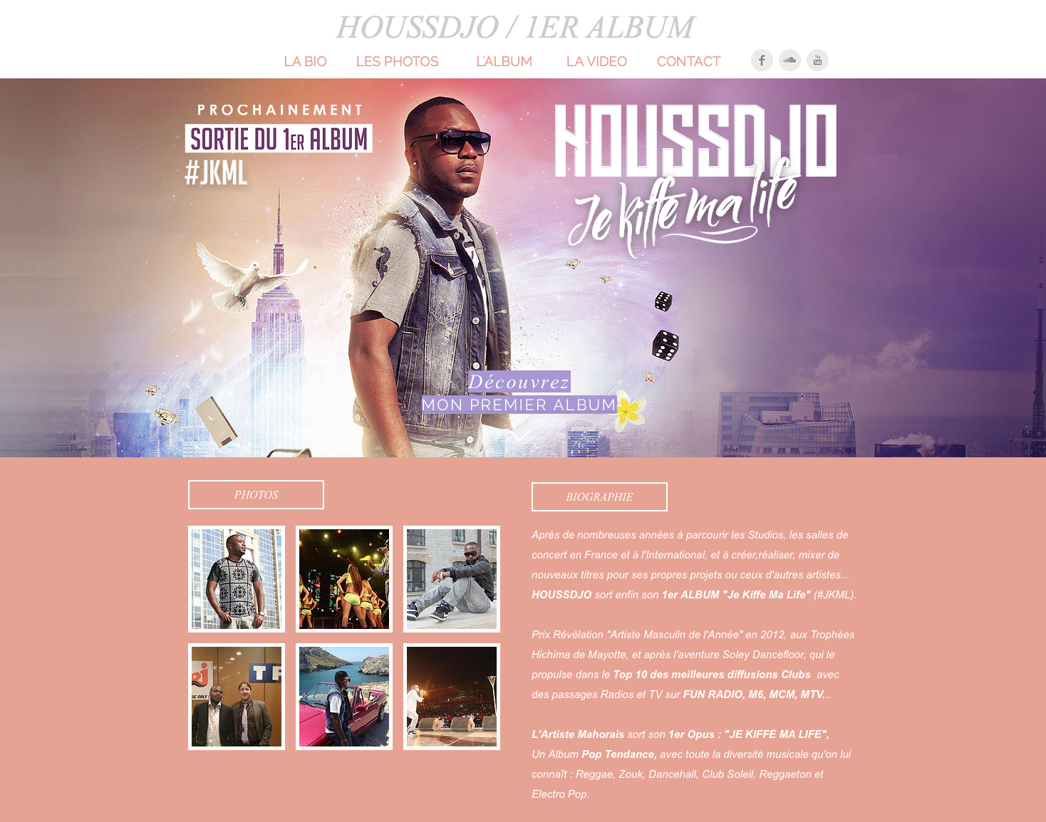 site web houssdjo album