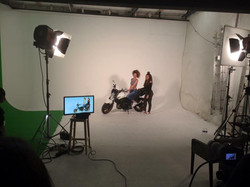 fond vert videoclip video shooting