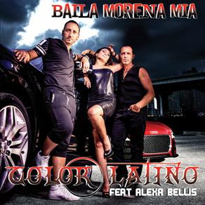 pochette color latino (Baila Morena Mia)