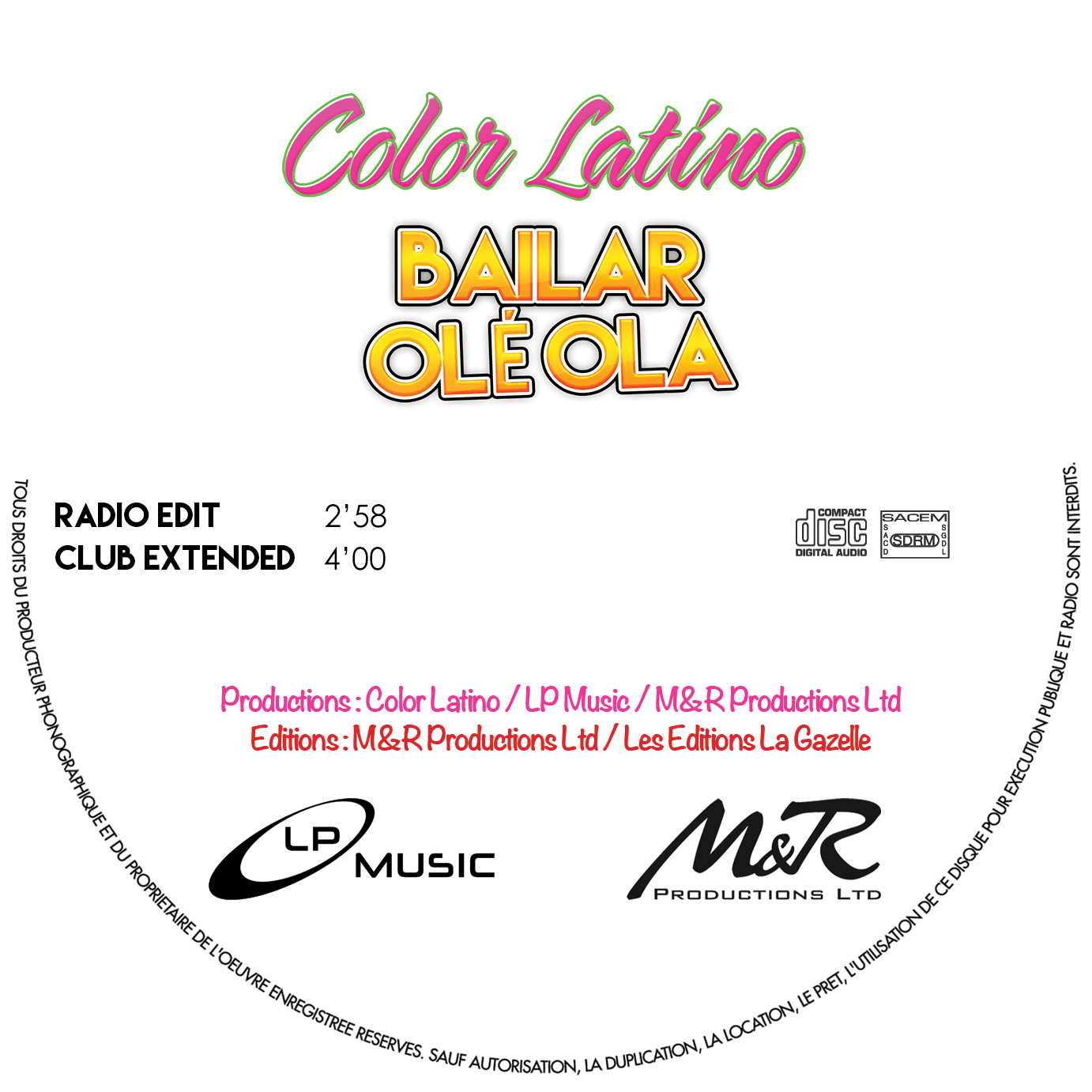 cd promo color latino baila