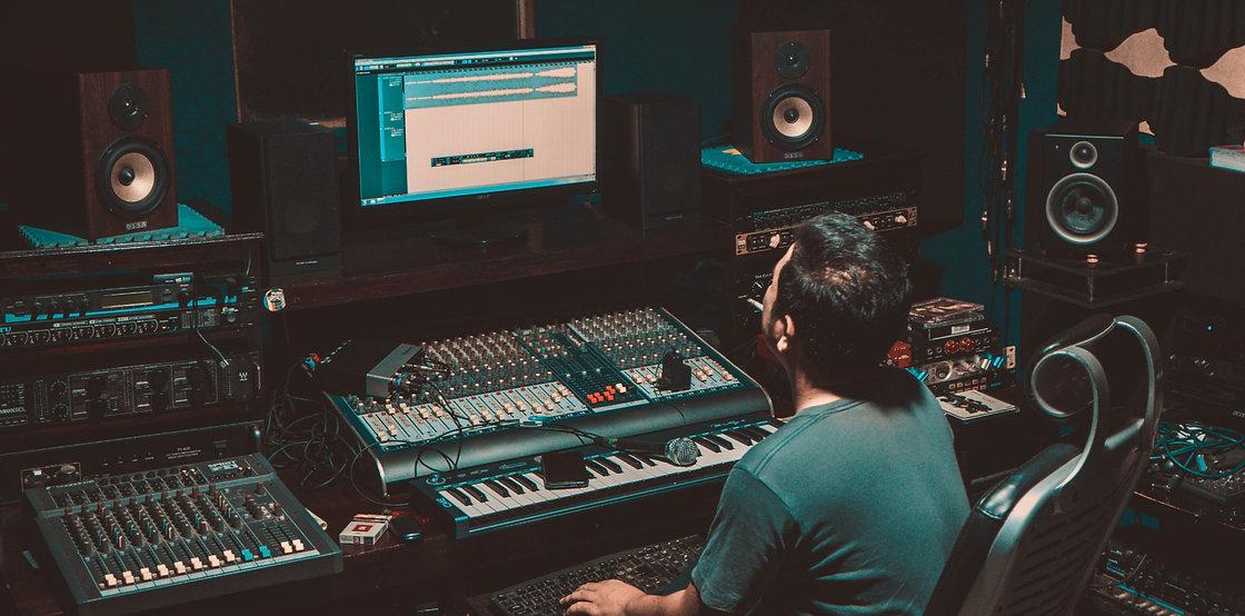 Studio d'enregistrement recording studio