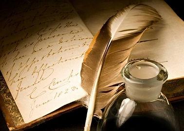 Encrier - Poésie écriture chanson