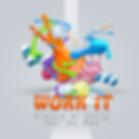 SIMONE DI PARIGI Feat MC BEE - WORK IT - Singe Ragga Dancehall - Tropical