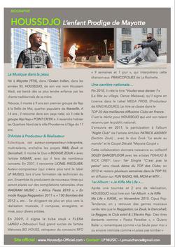 Press Kit Houssdjo Mayotte