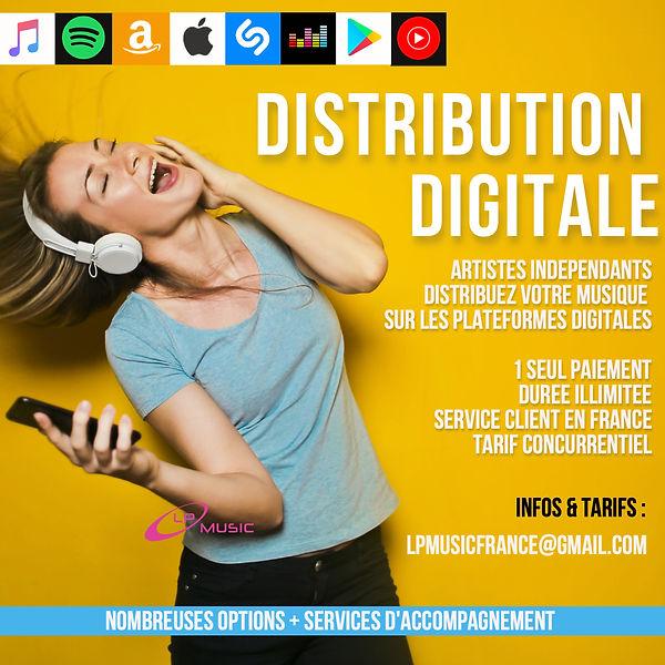 Distribuez votre musique en ligne avec L