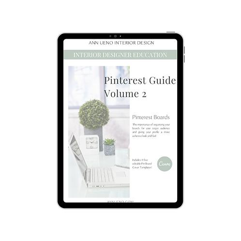 Pinterest Guide Volume 2 - Pinterest Boards