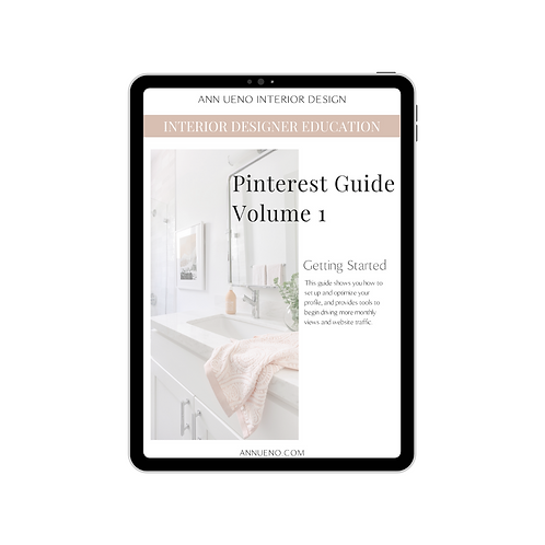 Pinterest Guide Volume 1 - Getting Started