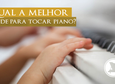 Qual a melhor idade para tocar piano?