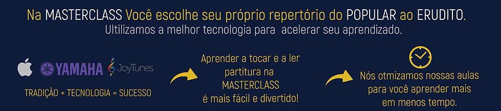 metodologia de aulas da masterclass
