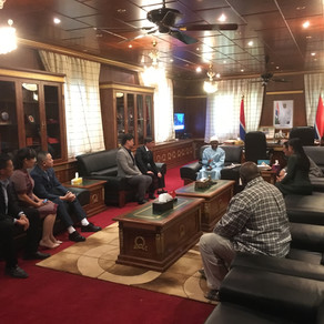 AMBASSADOR - AT - LARGE OF GAMBIA IN SOUTH EAST ASIA and Team Visit Vice President of Gambia