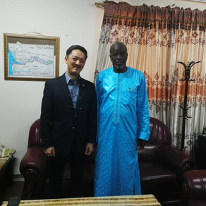 Met Minister of Lands and Regional Government