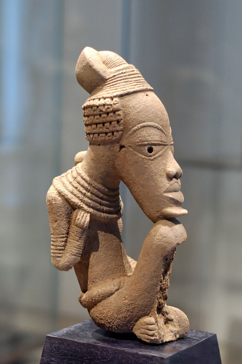 Nok sculpture, terracotta
