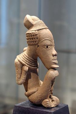 Nok sculpture, terracotta