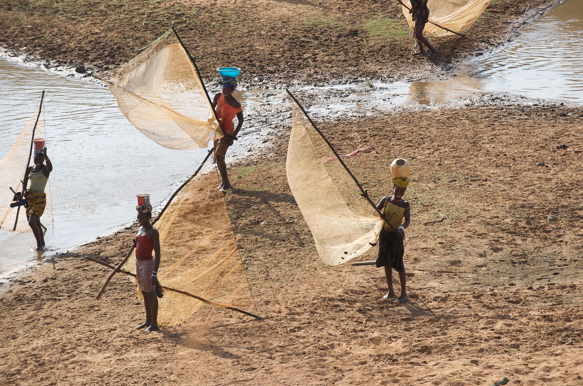 Malinke fisher women