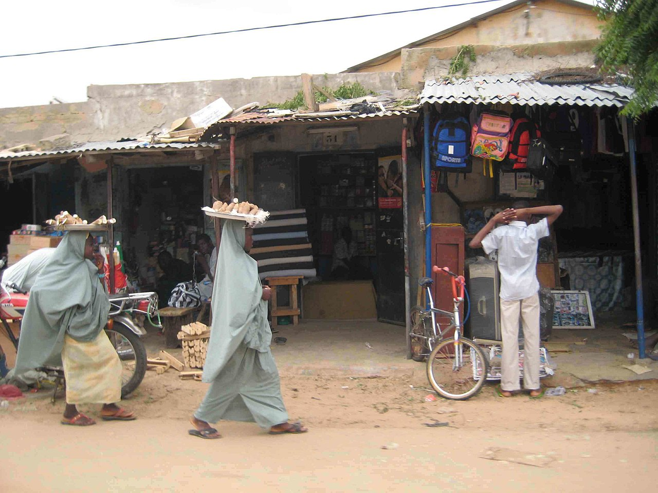 A market in Maradi.
