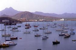 Yachts in Porto Grande, Mindelo