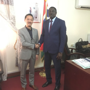 Ambassador At Large South East Asia met Minister of Foreign Affairs (GAMBIA)