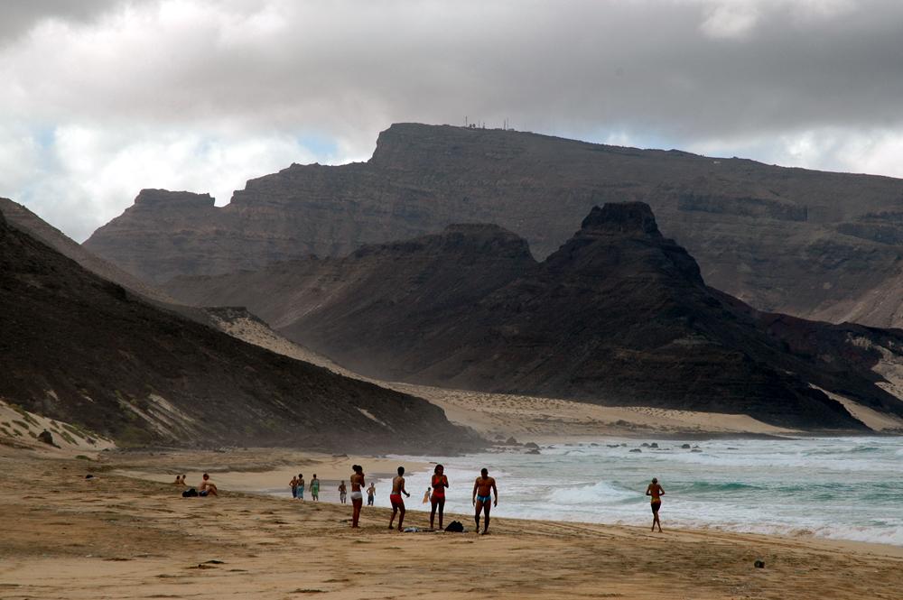 The beach of Calhau