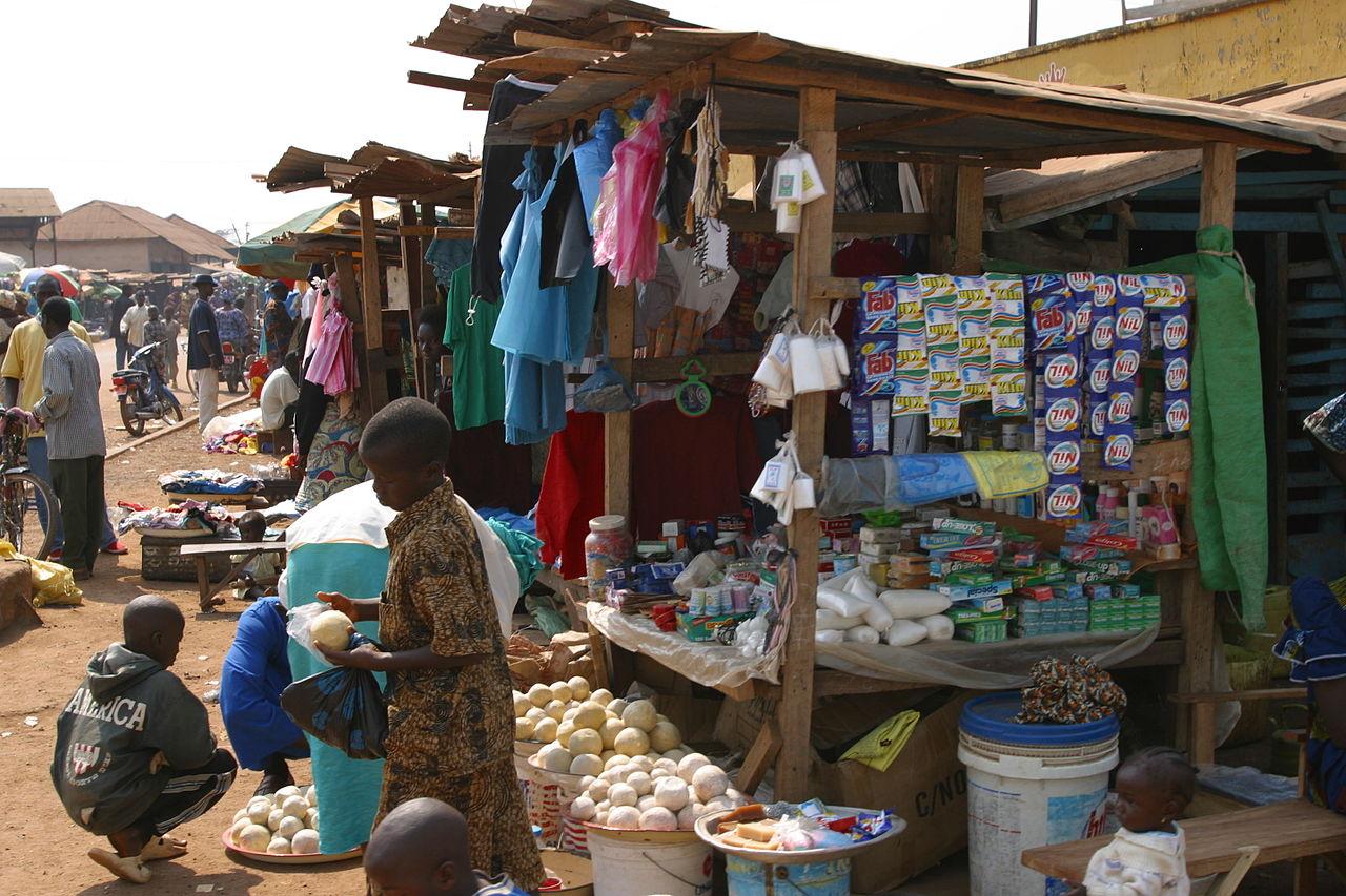 Kissidougou market