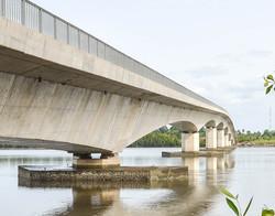 Bridge in São Vicente, Cacheu