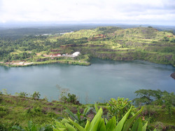 A view of a lake in Bomi County
