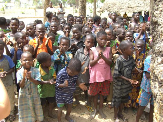Children in Benin