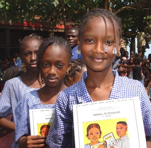 Schoolgirls in Conakry, Guinea