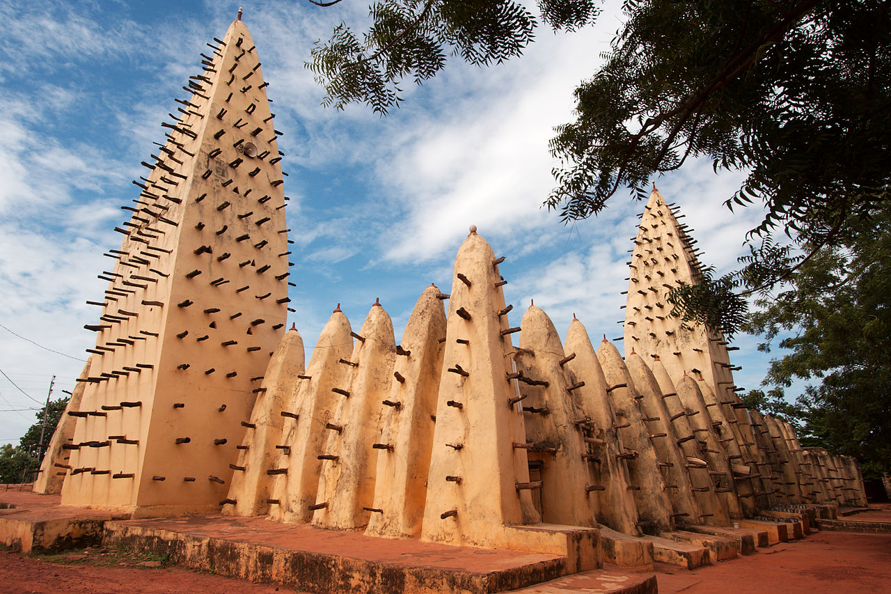 The Grand Mosque of Bobo-Dioulasso