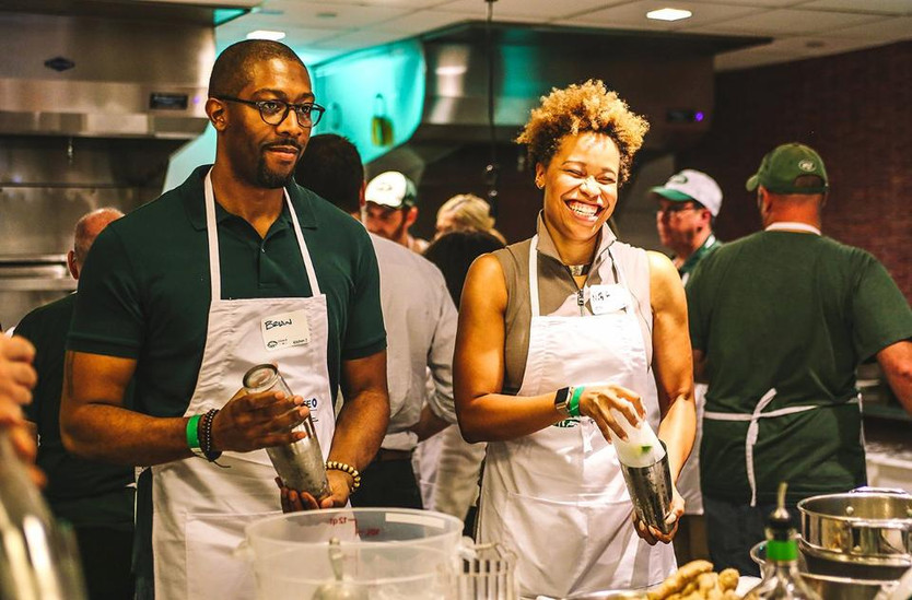Recap - Tacos & Tequila Tailgate, Jets Cooking School at ICE