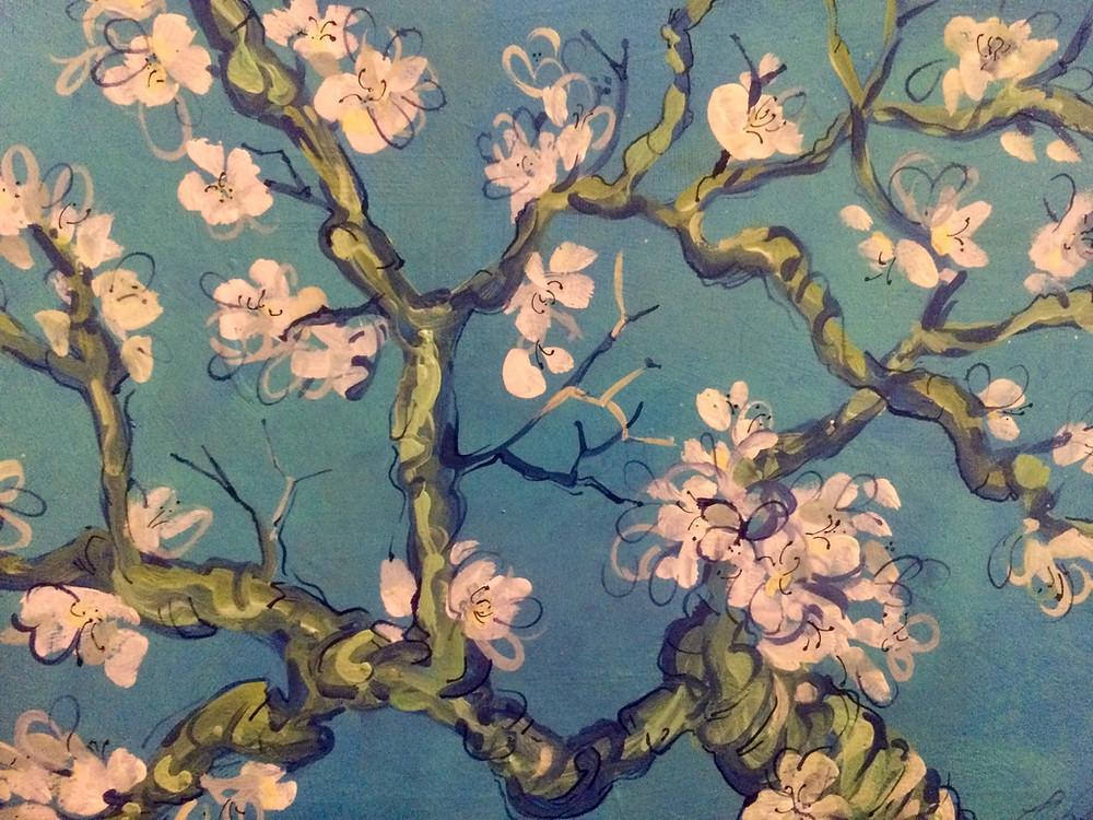 Acrylic on canvas by Lorenda Harder