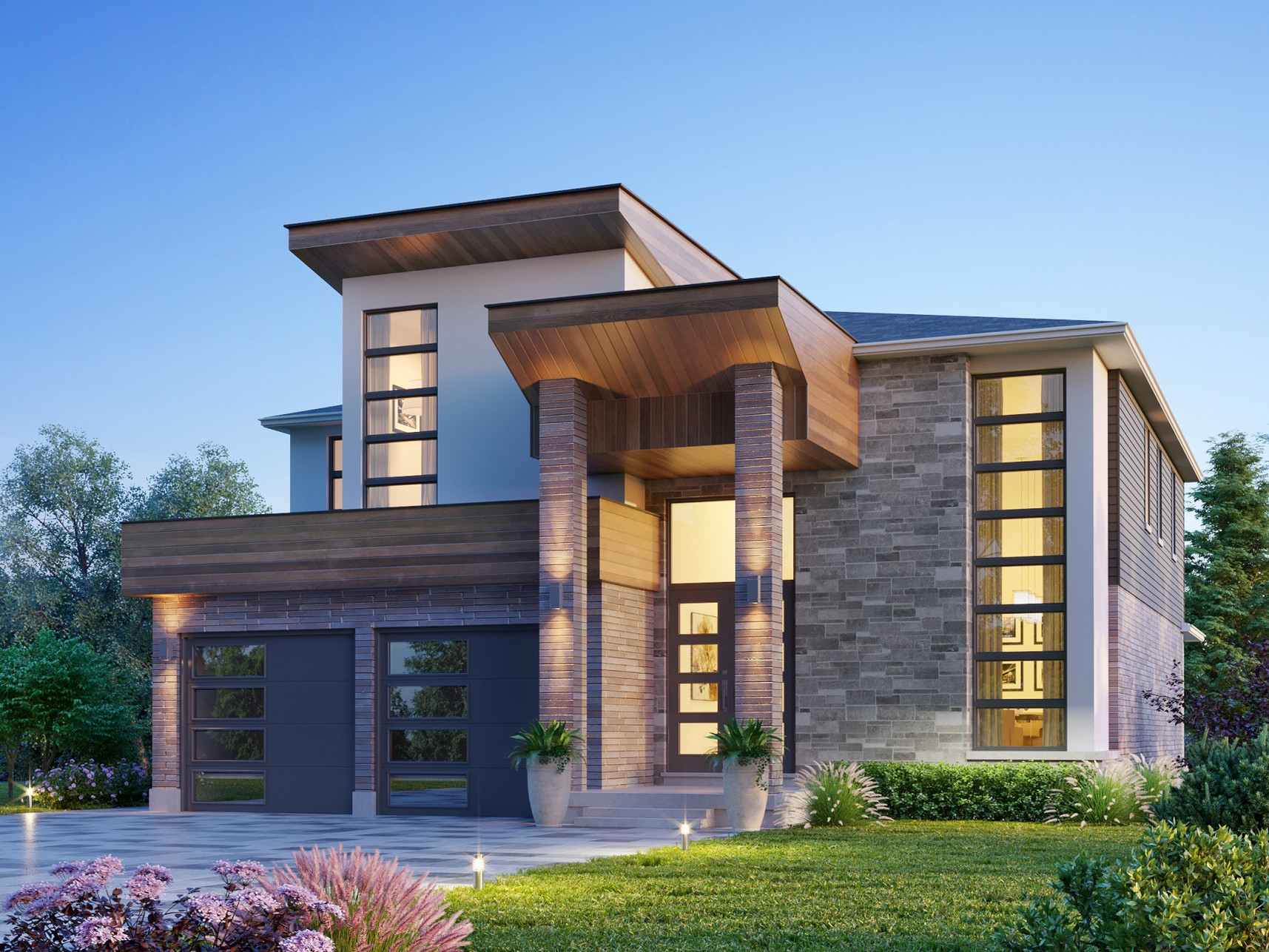 The Amethyst Contemporary