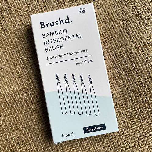 Brushd Interdental Brushes 1.0mm