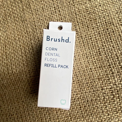 Brushd Natural Corn Dental Floss Refill