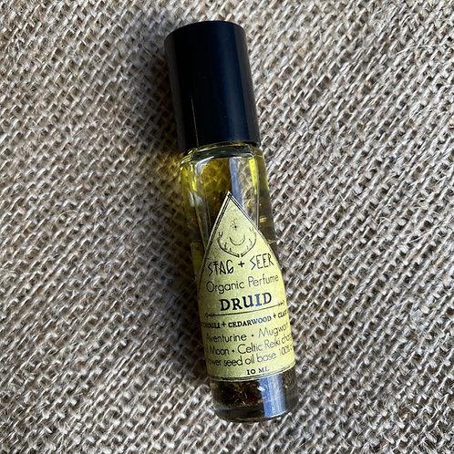 Stag + Seer Organic Sacred Oil Perfume DRUID