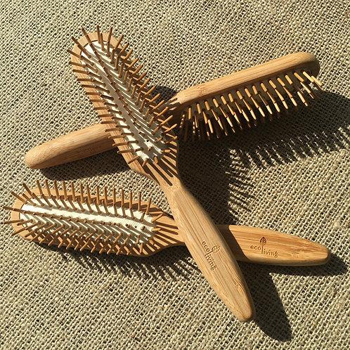 Bamboo Hairbrush -Rectangles
