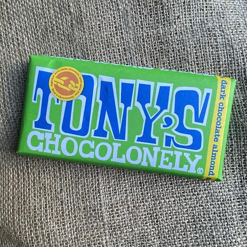 Tony's Chocolonely - Dark Chocolate Almond 51%