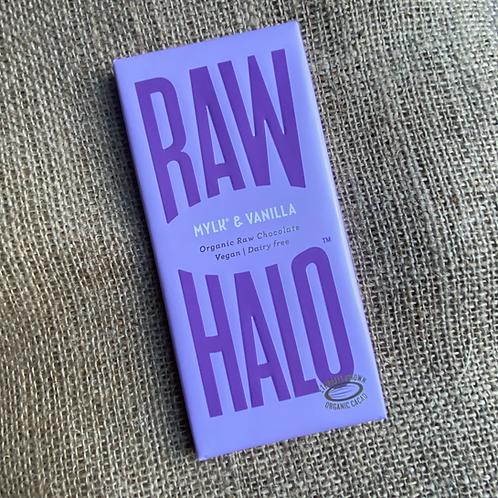 Raw Halo Organic Raw Chocolate - Mylk & Vanilla