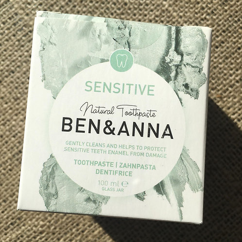 Ben & Anna Natural Toothpaste - Sensitive