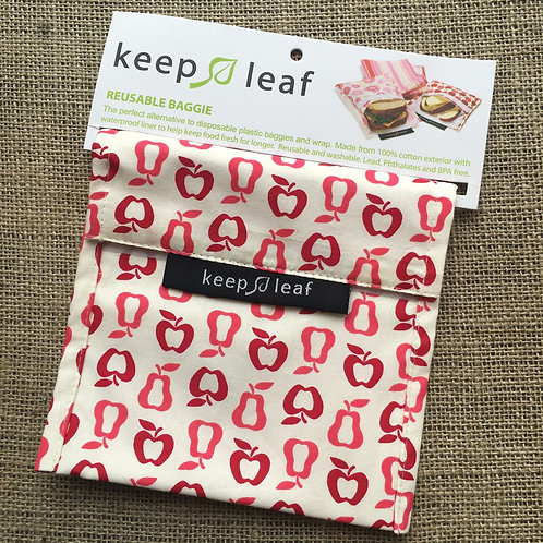 Keep Leaf Reusable Sandwich Baggie - Red Fruit